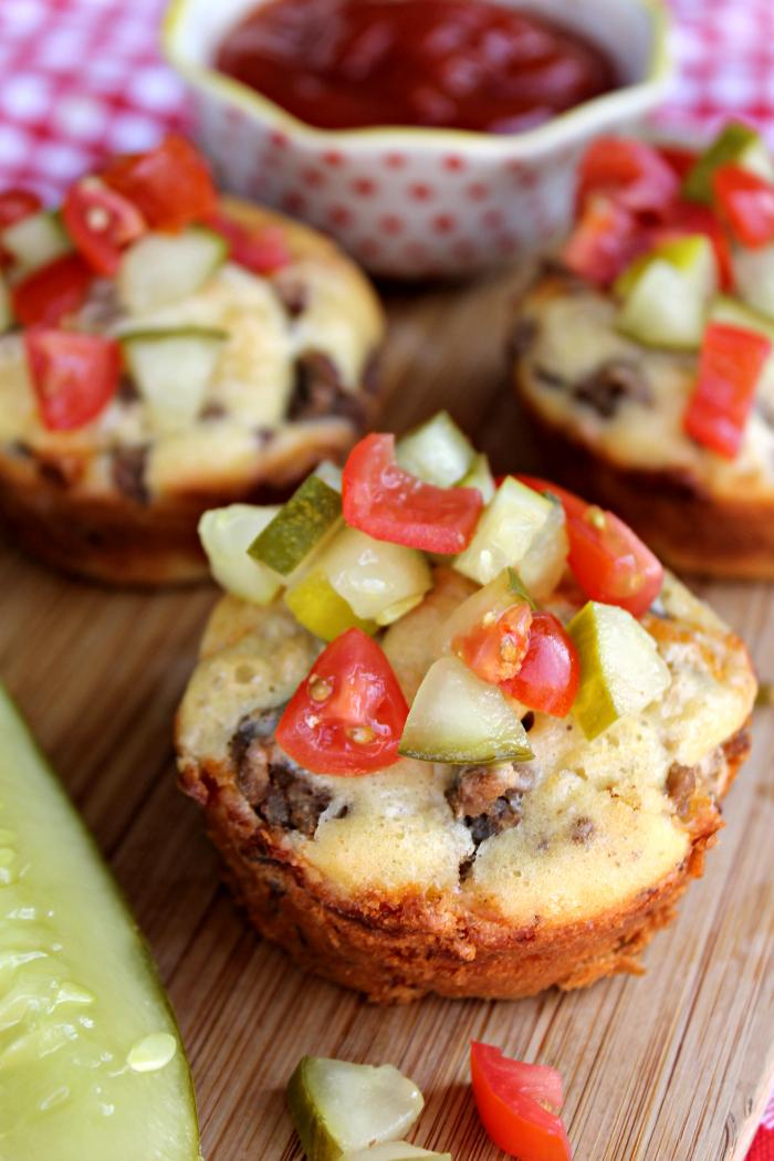Loaded Cheeseburger Muffins Recipe Are A Fast And Easy Meal