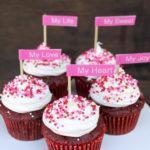 Super Easy Red Velvet Cheesecake Cupcakes 2