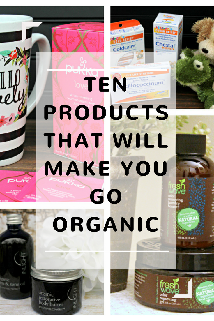 When possible, I use products that are Non-GMO, Organic, and sustainable. When I get the chance, I share my favorite products with family, friends and my readers. Recently, I sampled ten products that will make you go organic! #ad #shiftcon #shiftconlove