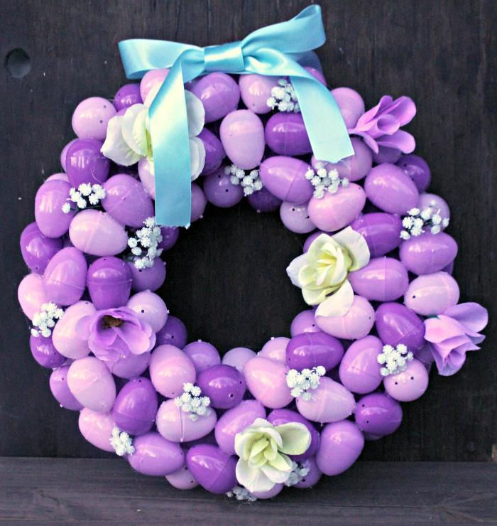 DIY Floral Easter Egg Wreath Tutorial final