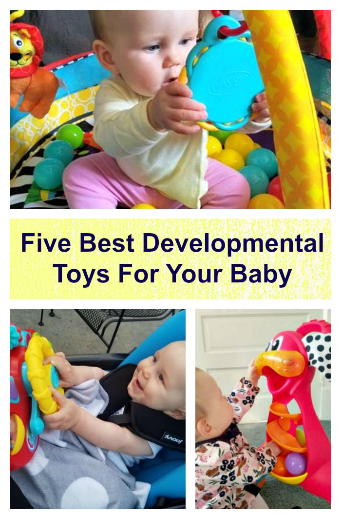 Best Developmental Toys For Babies : Five of the best developmental toys for your baby