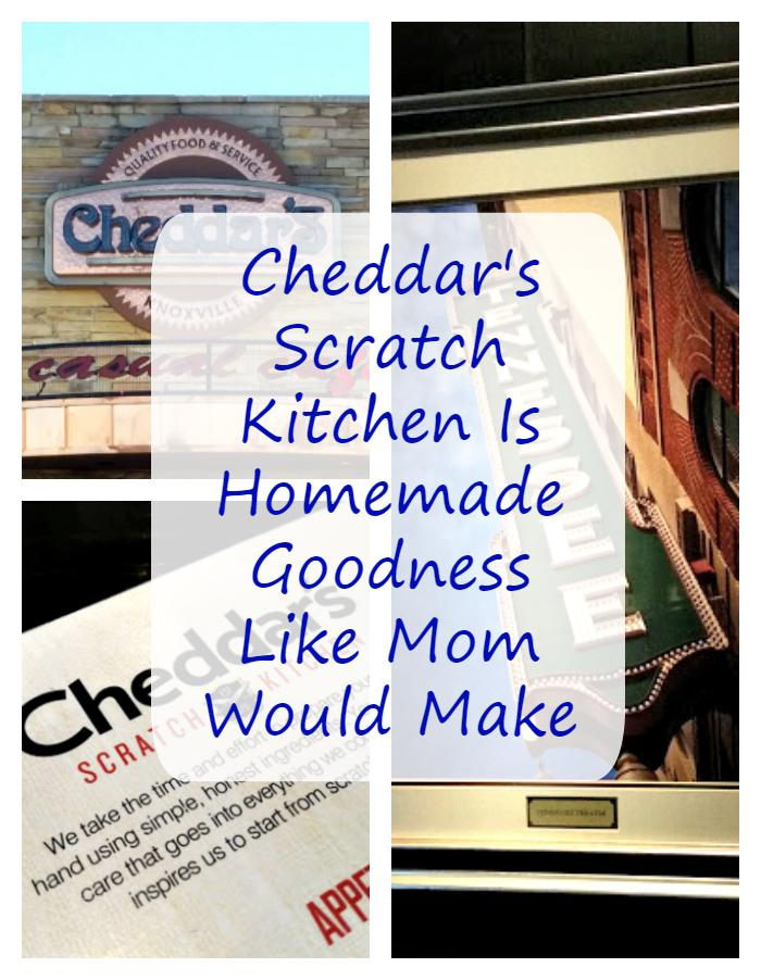 I miss my Gram's cooking. The only place my family can get the same home-made goodness like my Gram made is at Cheddar's Scratch Kitchen. #ad #inspiregoodness