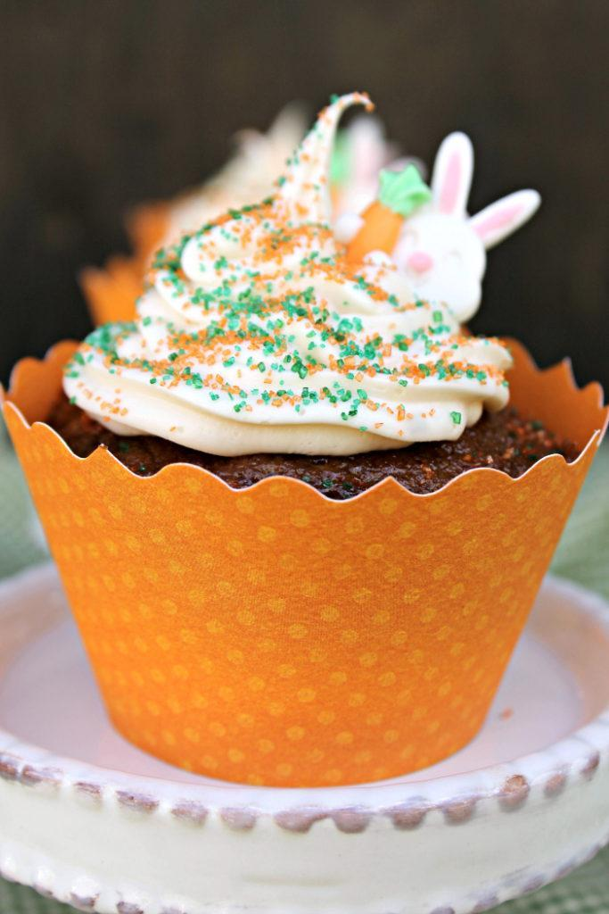Are you looking for a new spring or Easter dessert the family will love? Try these Delicious Vegan Carrot Cake Cupcakes!