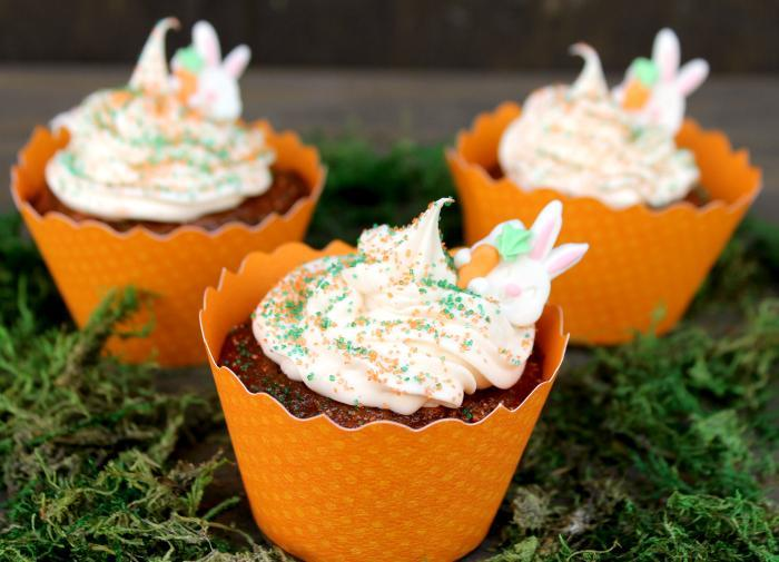 Delicious Vegan Carrot Cake Cupcakes