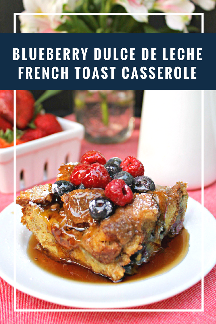 This Easy Blueberry French Toast Casserole Recipe is the perfect weekend brunch recipe. It will satisfy even the biggest sweet tooth!