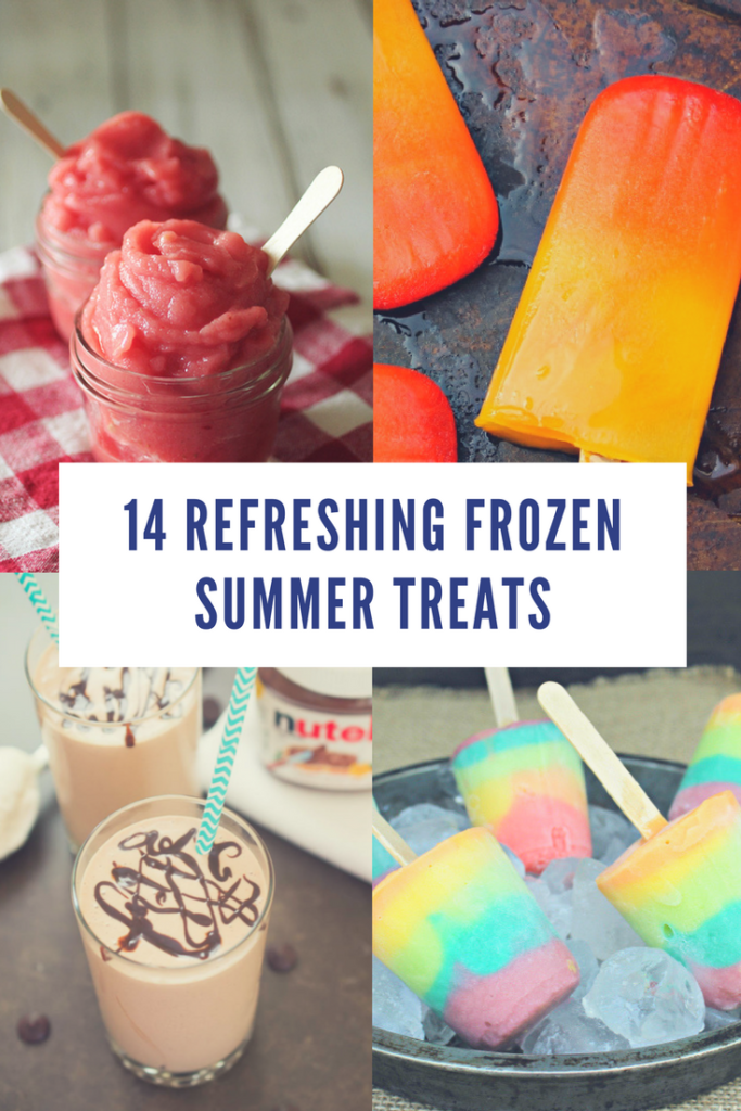 One of my favorite ways to cool off when it is hot is with a yummy treat that is nice and cold. My kids and I are crazy about these 14 Refreshing Frozen Summer Treats! Which one will be a new favorite in your house??!