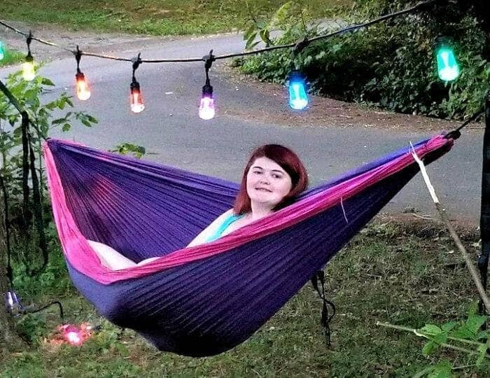 The Best DIY Summer Outdoor Party Tips hammock