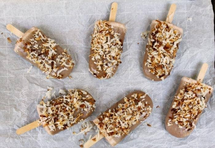 Homemade Toasted Coconut Banana Fudgesicles 2