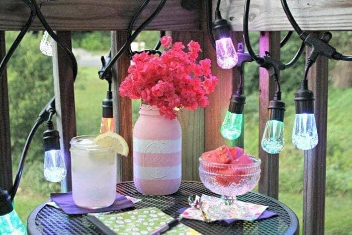 5 Of The Best DIY Summer Outdoor Party Tips