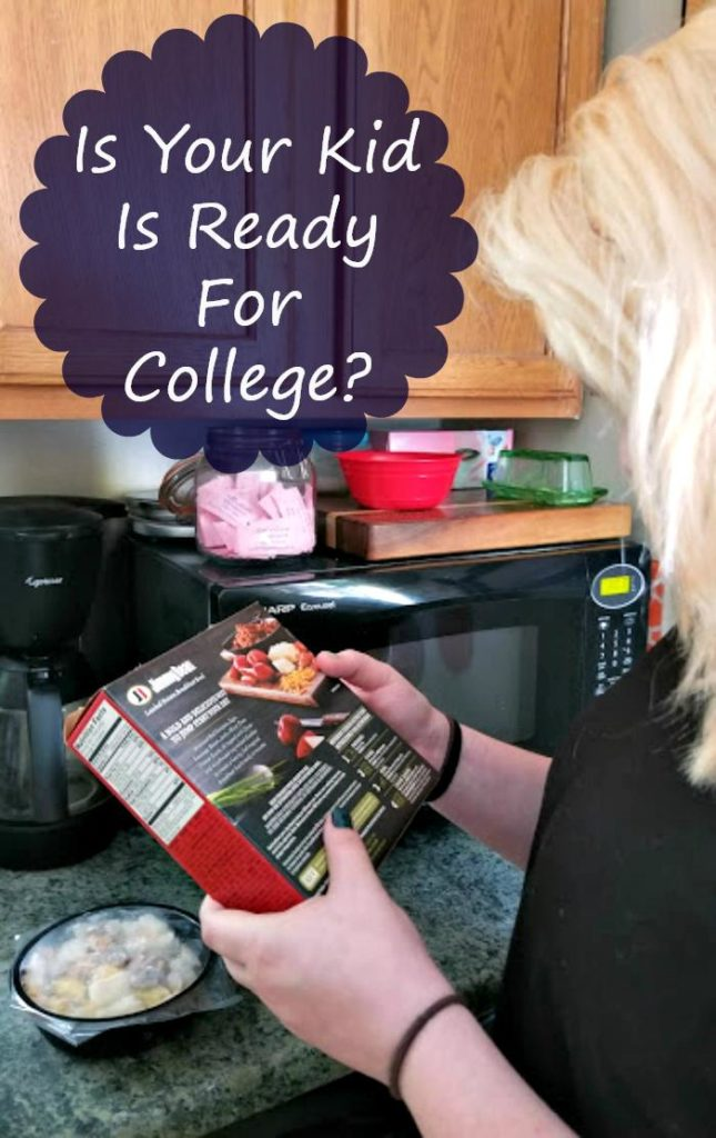 My daughter is starting college and I want to make sure she knew basic life skills like making a simple meal. Look for these signs in your college bound kid to know if they are ready for dorm life. #ad #JimmyDeanBowls