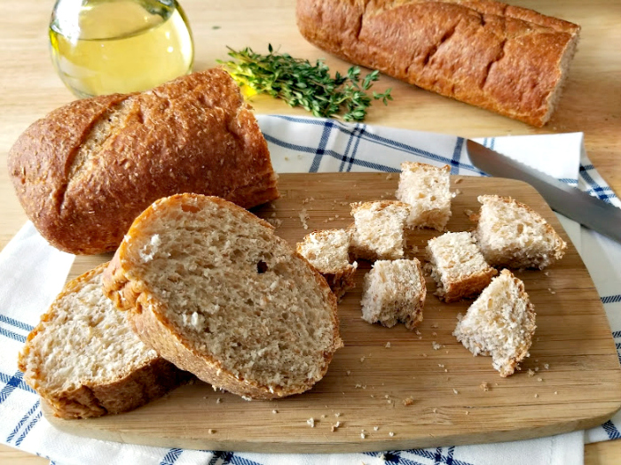 Homemade Croutons Recipe bread