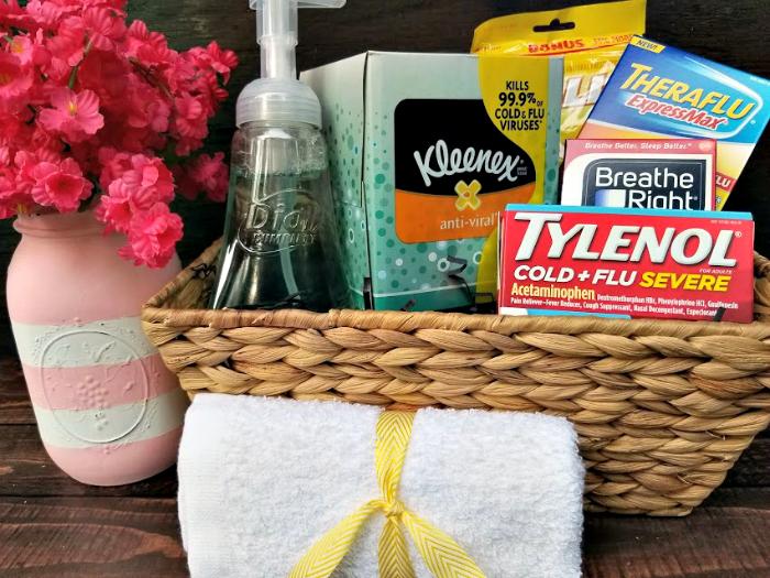 Easy $15 DIY Medicine Cabinet Makeover basket