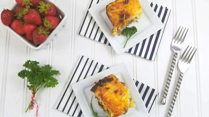 Everything Bagel Breakfast Casserole Recipe 2