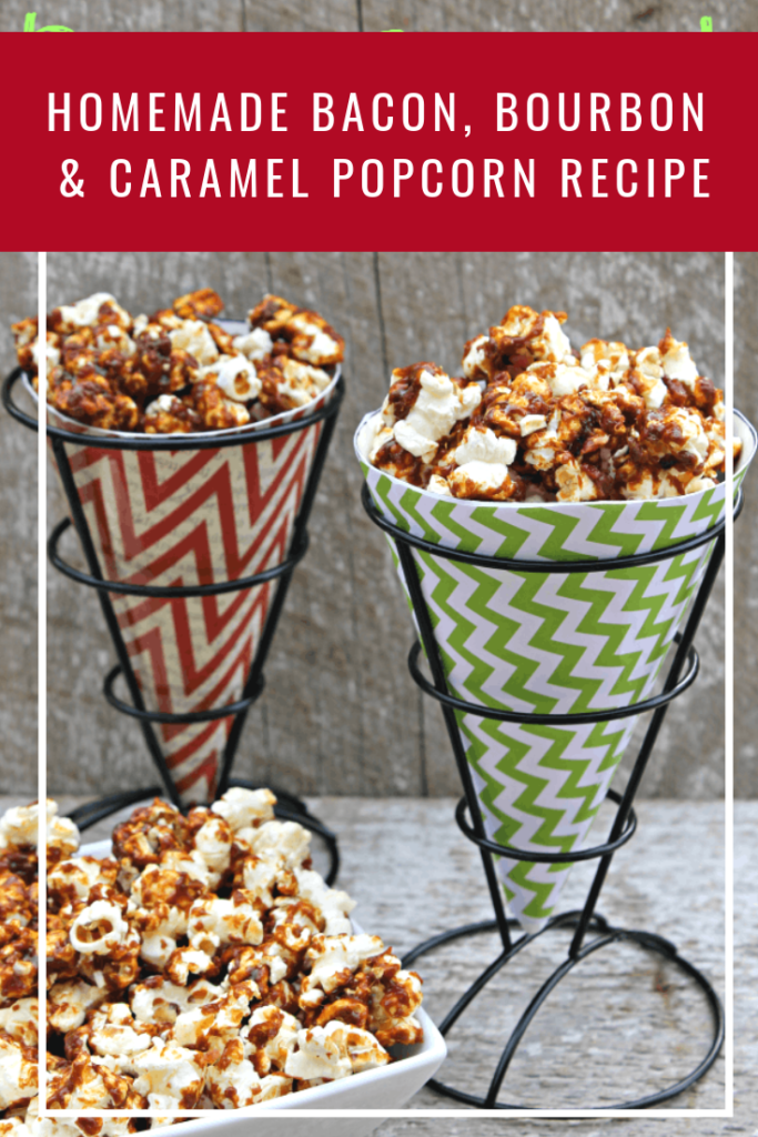 For your next party or family get together, serve them some munchies they will remember like my best homemade bacon, bourbon & caramel popcorn recipe
