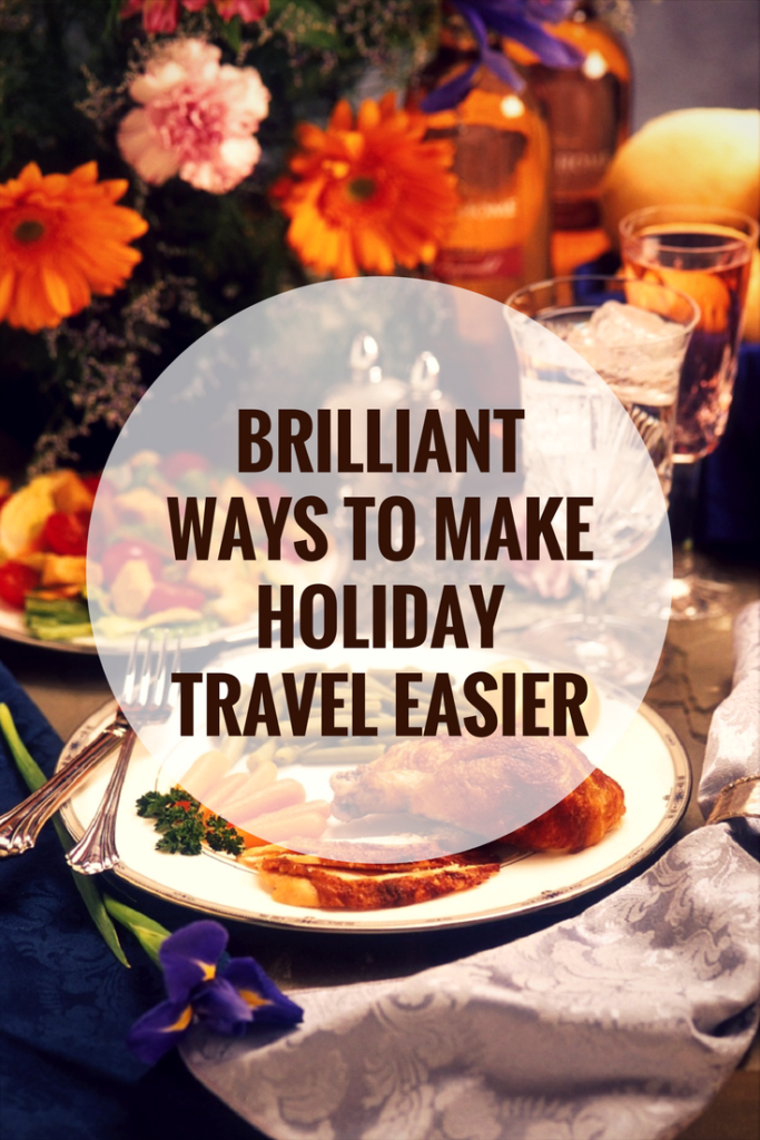 Are you planning to visit friends and family for the holidays? I have some brilliant ways to make holiday travel easier! #ad @topcashbackUSA