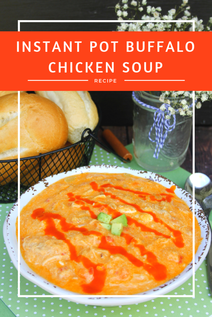 My Instant Pot Buffalo Chicken Soup Recipe is easy to make and has such a great kick to it. It's ideal for those nights when you want some amazing comfort food.