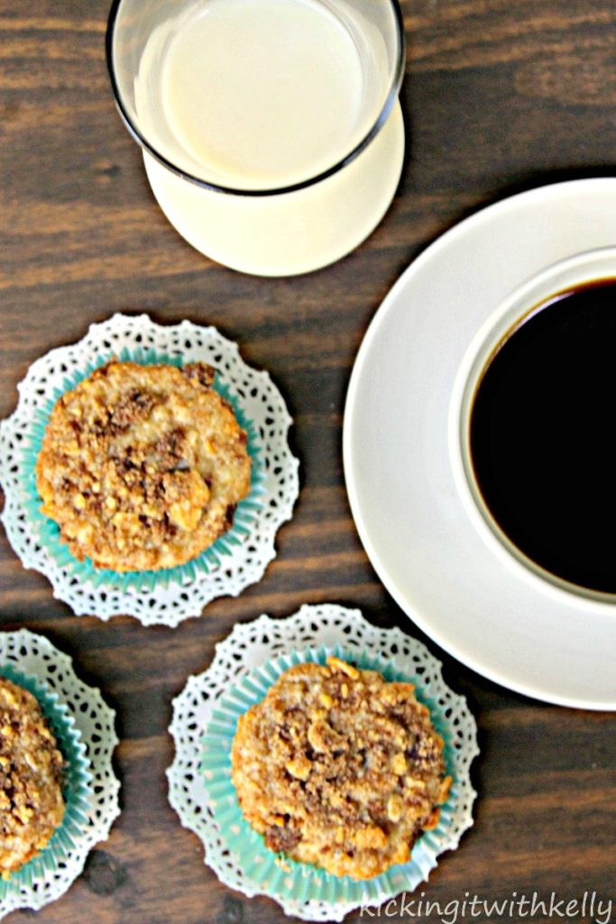 Easy Chocolate Chip Coffee Cake Muffin Recipe 3