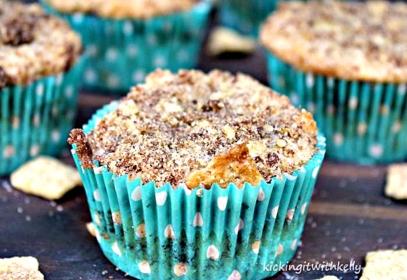 Easy Chocolate Chip Coffee Cake Muffin Recipe 4