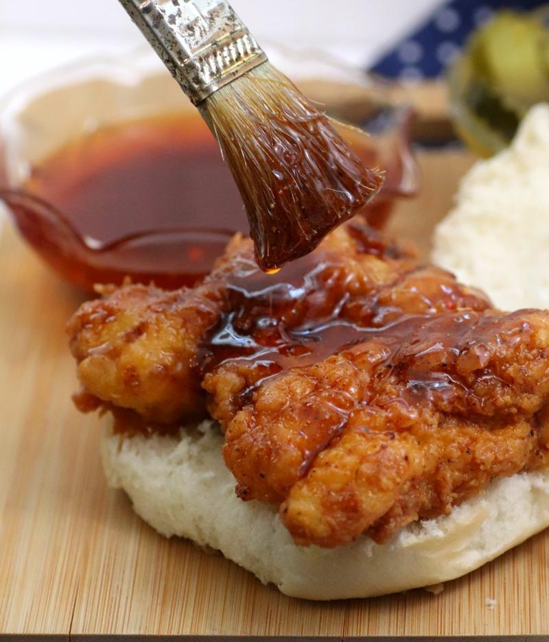 Crispiest Nashville Style Fried Chicken Sandwich Recipe 1