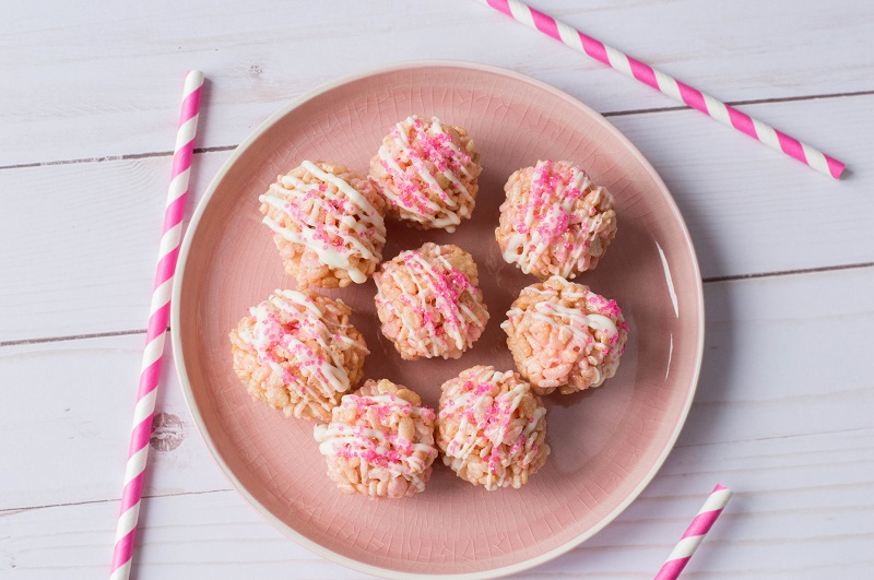 Easy To Make Pink Cereal Treats Recipe 2