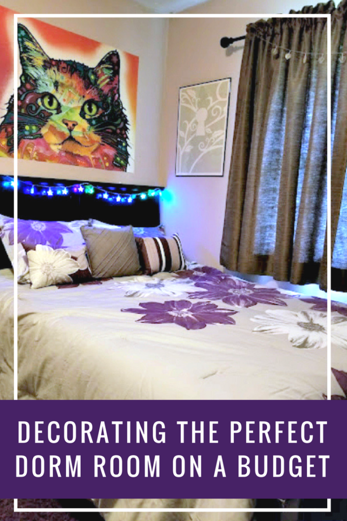How to decorate the perfect dorm room on a budget kicking it with kelly - How to decorate a house on a budget ...