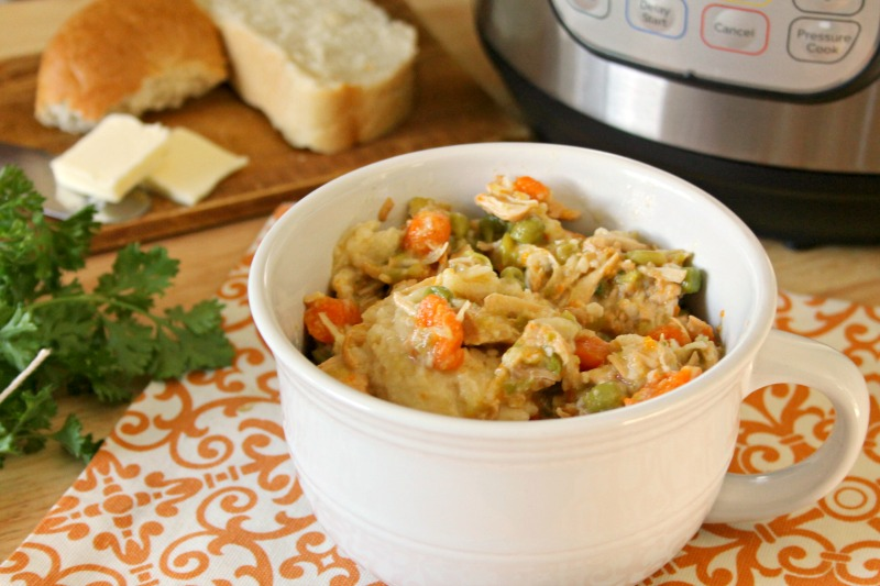 Easy Instant Pot Creamy Chicken and Dumplings Recipe