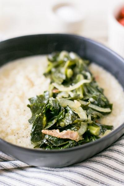 Foods that Promote Bone Health collard greens