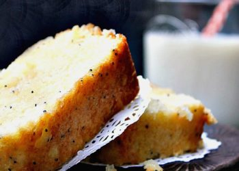 Gluten Free Lemon Poppy Seed Pound Cake Recipe pin2