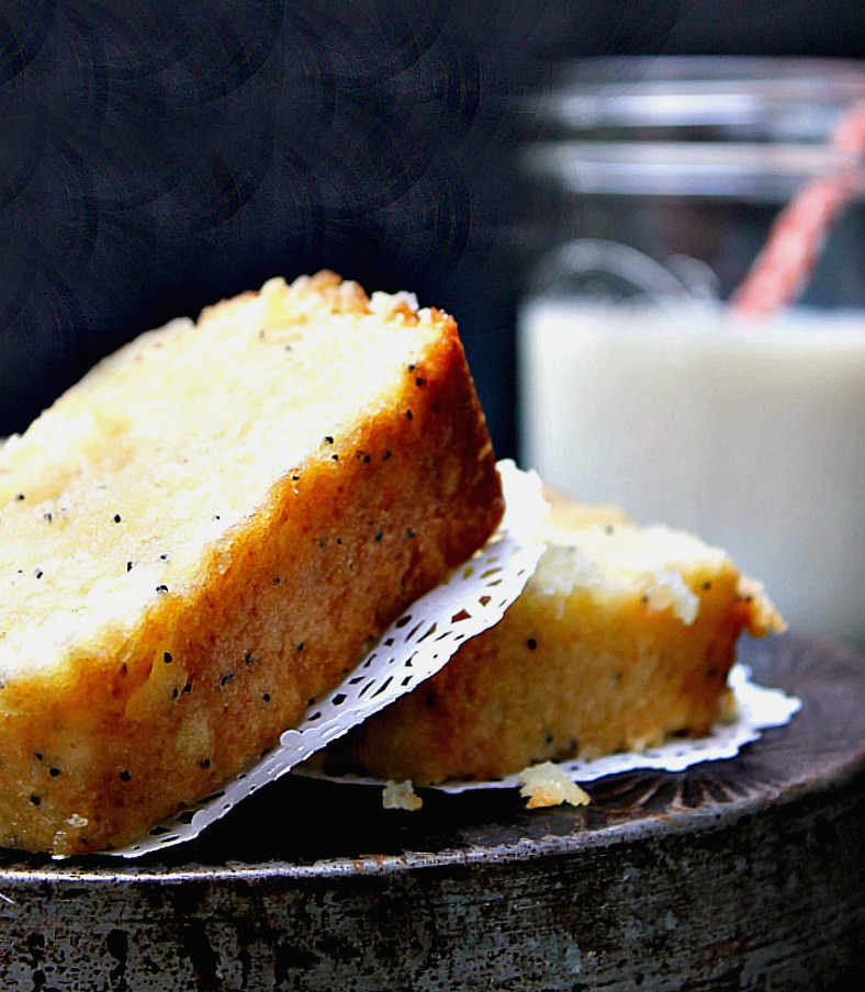 Gluten Free Lemon Poppy Seed Pound Cake Recipe pin2