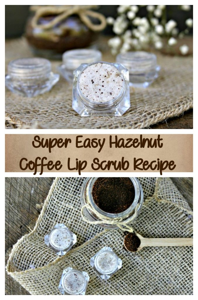 If you suffer from dry and chapped lips, my Hazelnut Coffee Lip Scrub Recipe will have them feeling like a million bucks in no time!
