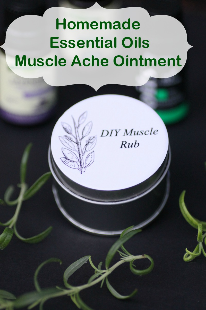 I am very disciplined when it comes to stretching before and after a workout, but the aches and pains still appear. That is why I made my own Homemade Essential Oils Muscle Ache Ointment.