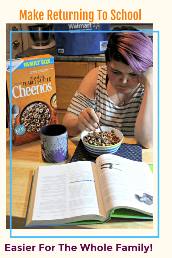 One of mom super powers is making the back to school transition easier for everyone. The new Big G cereals from @walmart are a quick breakfast that is nutritious and the kids love. Our favorite are the Chocolate Peanut Butter Cheerios. #ad #NewYearNewCereal