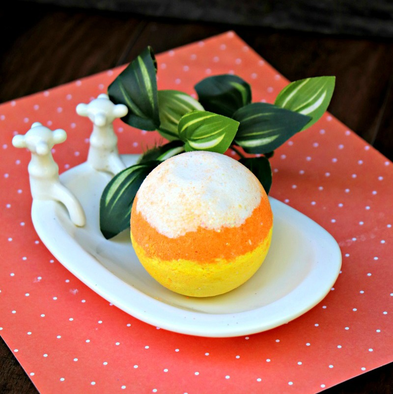 Candy Corn Bath Bomb Recipe 2