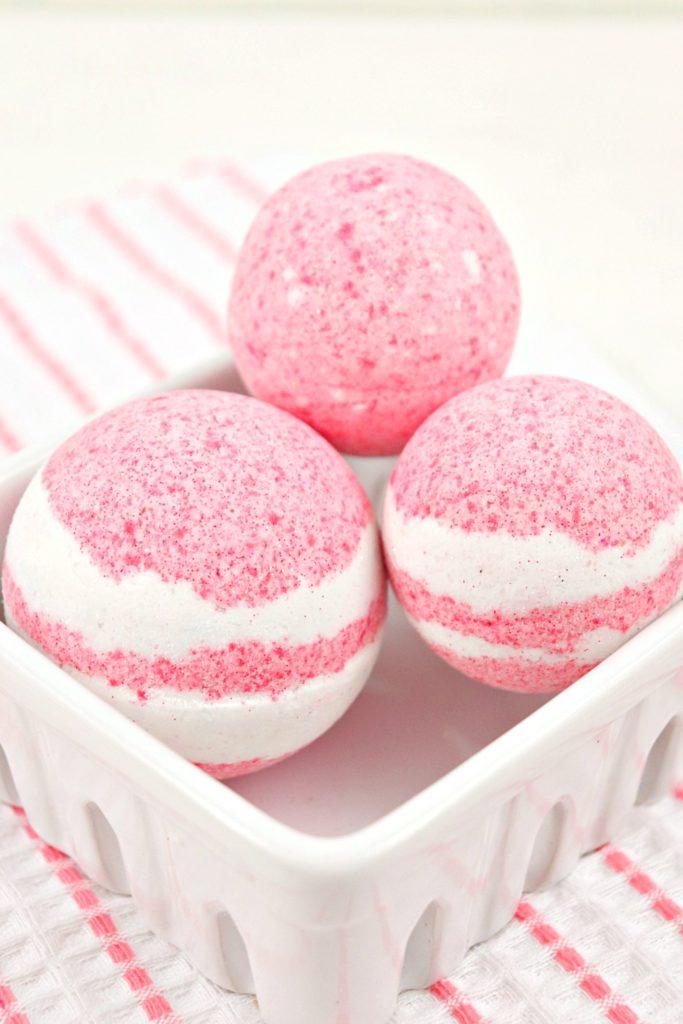Strawberries And Cream Bath Bomb Recipe 2