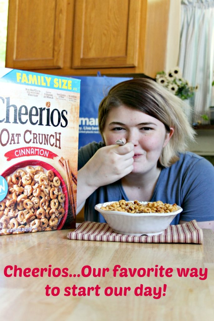 #ad Eating Cheerios is a family tradition we have had for more than 40 years.That is why the NEW @cheerios Oat Crunch from @walmart is a part of our day...every day! Why not start that tradition with your family?! #CheeriosOatCrunch @shespeaksup #food #breakfast #family #kids
