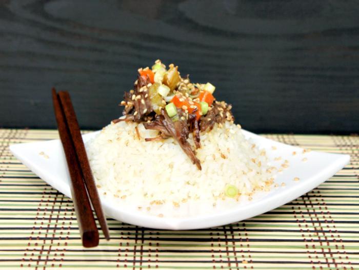 Slow Cooker Sweet Korean BBQ Beef Recipe 2