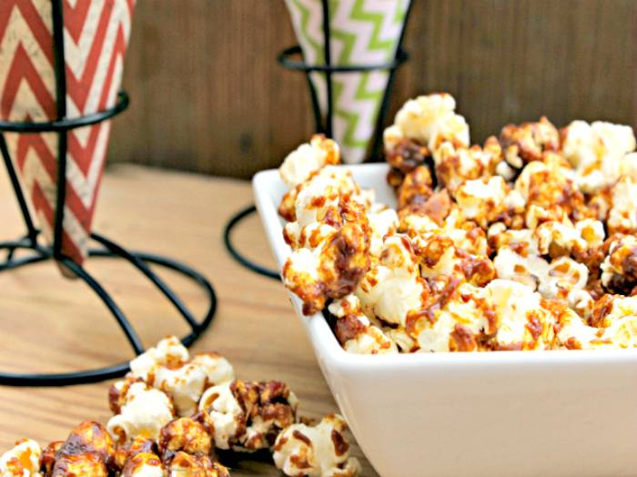 best homemade bacon, bourbon & caramel popcorn recipe 2