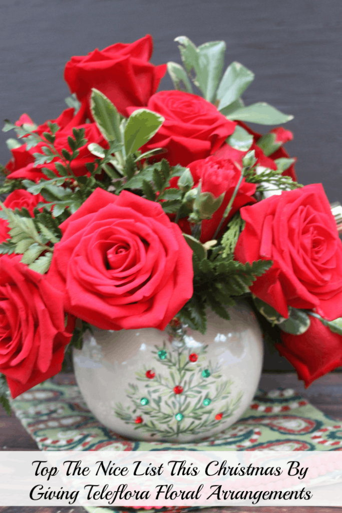 Top The Nice List This Christmas By Giving Teleflora Floral Arrangements 8