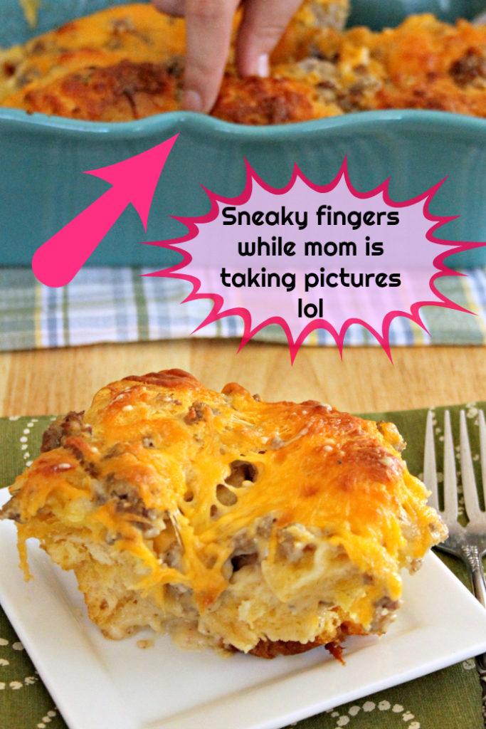 Sausage Biscuit Gravy Bake Recipe 3