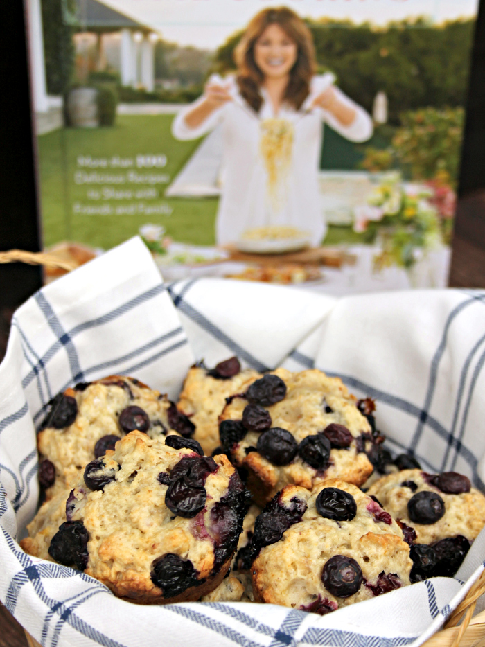Blueberry-Banana Oat Breakfast Muffins basket