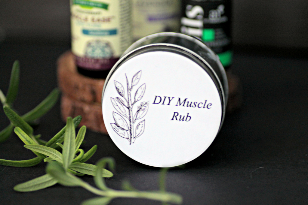 Homemade Essential Oils Muscle Ache Ointment 1