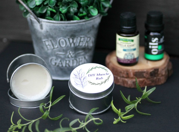 Homemade Essential Oils Muscle Ache Ointment 2