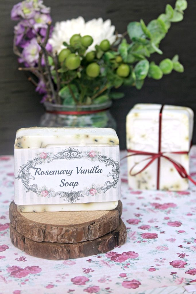 Rosemary And Vanilla Goats Milk Soap Recipe 2