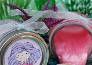 Shimmery Mermaid Slime Recipe