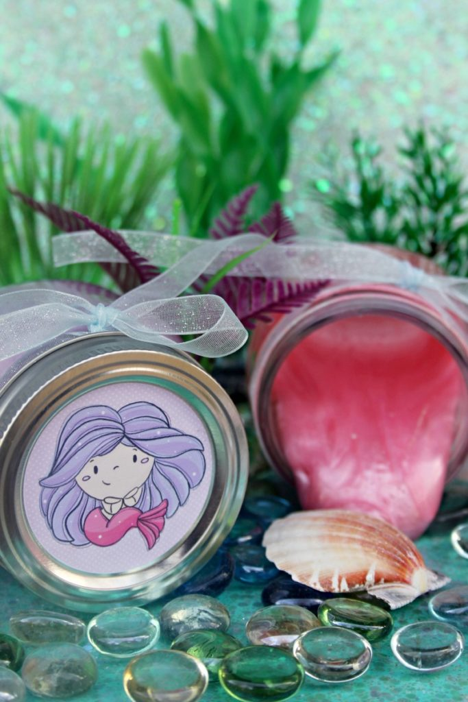 Shimmery Mermaid Slime Recipe