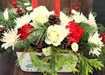 Christmas flower arrangements 5