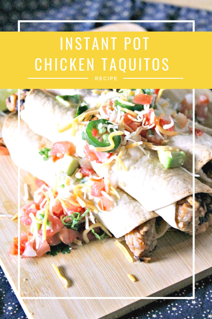 I love cooking with my Instant Pot. I can have my Instant Pot Chicken Taquitos Recipe on the table in less than 30 minutes!