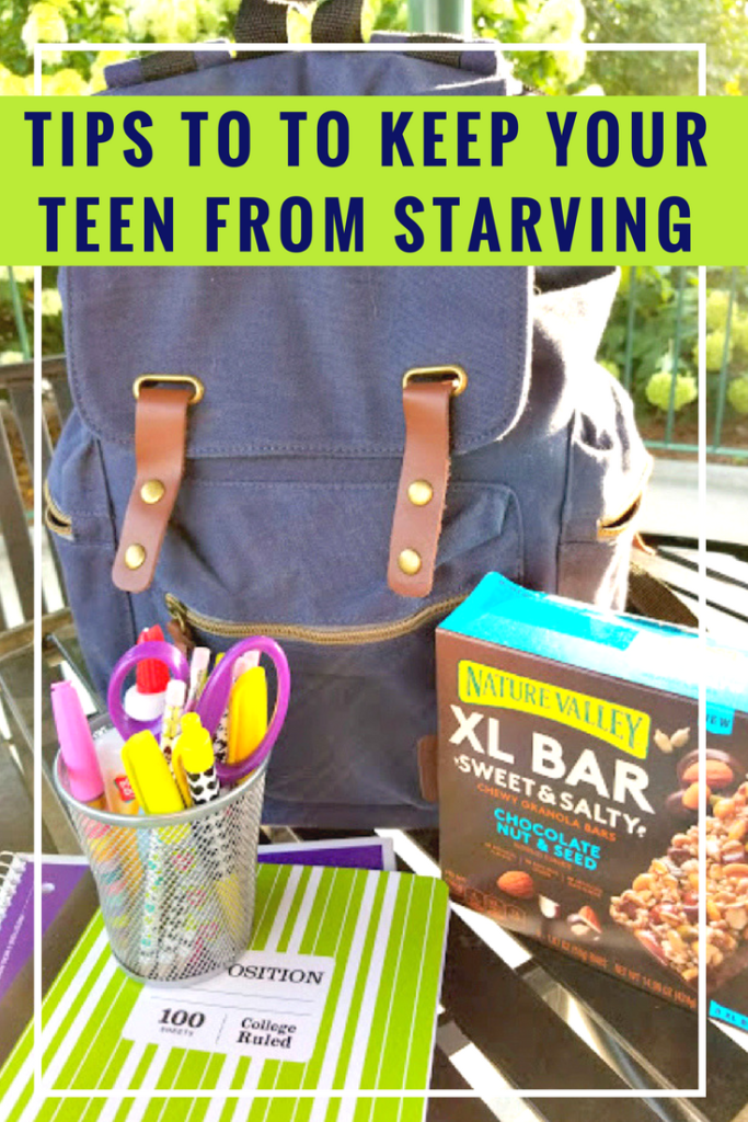 Do your kids eat you out of house and home? Me too! That is why I came up with these ways to keep your teen from starving when your family is on a budget! #ad @walmart #NatureValley
