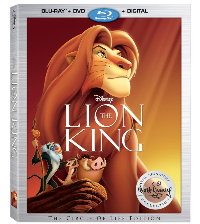 The Lion King Is Added To Disney Signature Collection boxart
