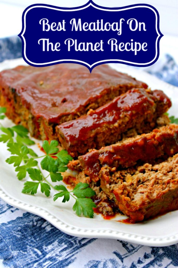 Who has a picky eater at home? I do! How did I get him to eat my best meatloaf recipe on the planet? I added Goldfish crackers!
